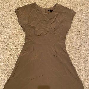 final touch medium brown dress!